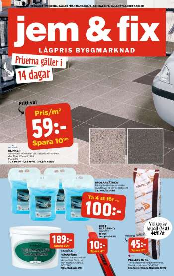 Jem & Fix reklamblad - 8/2 2021 - 21/2 2021.